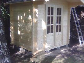Специальный заказ садового домика №7